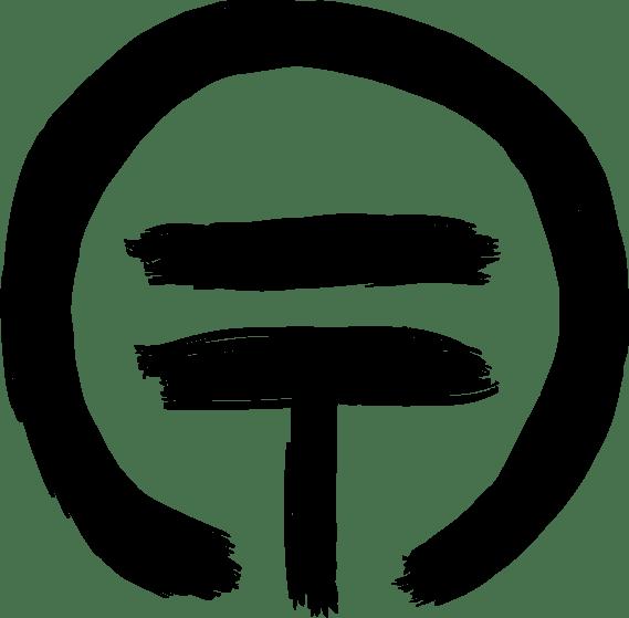 Logo symbol in black